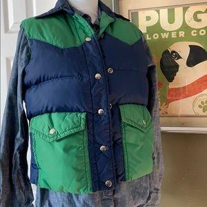 Vintage Down Puffer Vest